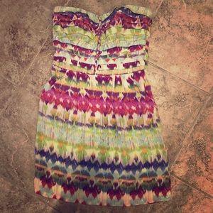 Charlie Jade multicolor silk dress